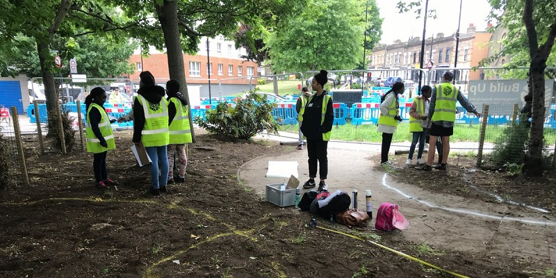 Build Up Hackney: Introducing young people to landscape design