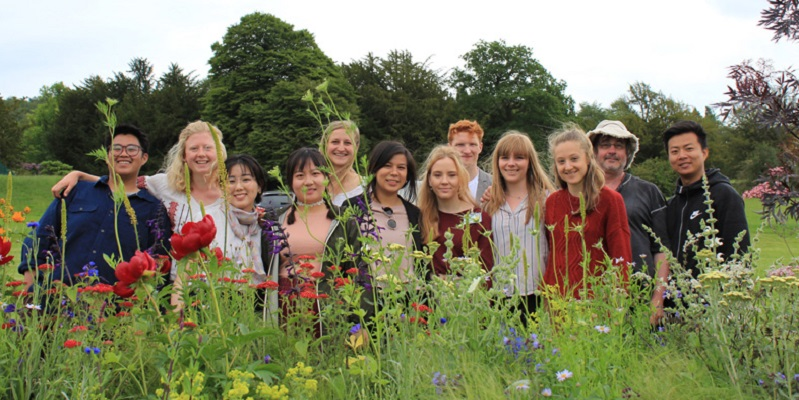 Sheffield landscape students succeed at RHS Chatsworth